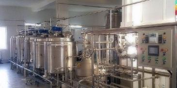 Цех ферментации кисломолочных продуктов