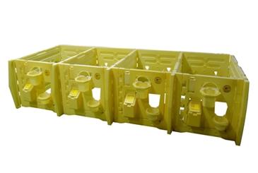 Модульный бокс для телят (на 4 места)